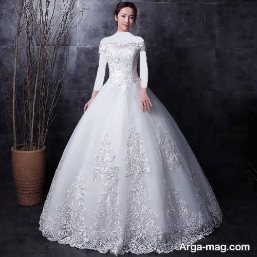 لباس عروس پرنسسی شیک و جذاب