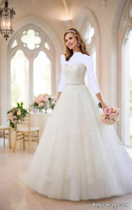 مدل لباس عروس زیبا و متفاوت