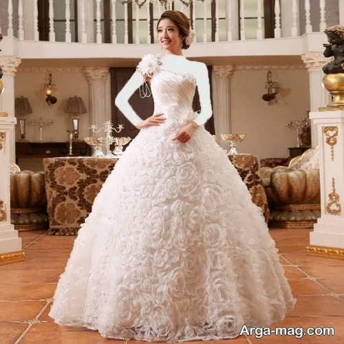 مدل لباس عروس پرنسسی زیبا و جذاب