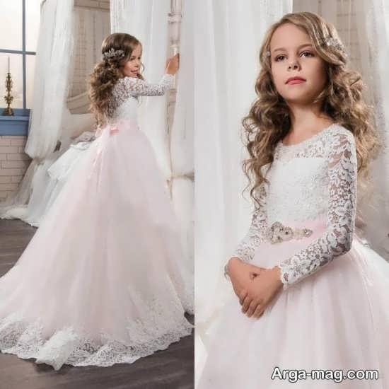 مدل لباس پرنسسی بچه گانه