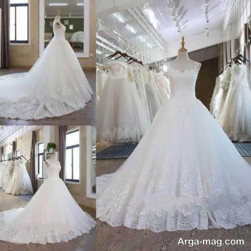 تصاویر پیراهن عروس پرنسسی