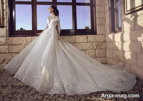 پیراهن عروس پرنسسی زیبا