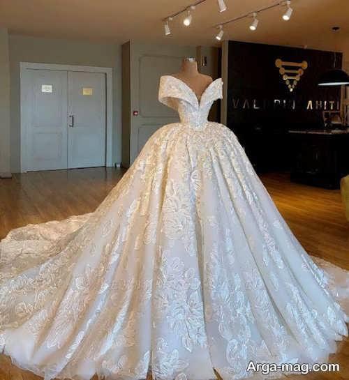 پیراهن عروس پرنسسی