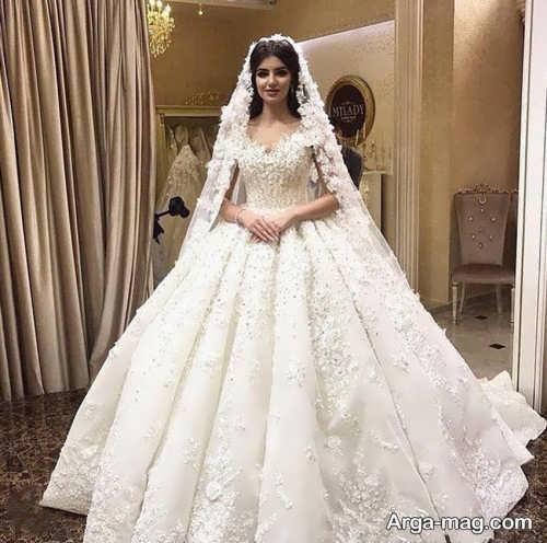 پیراهن عروسی پرنسسی