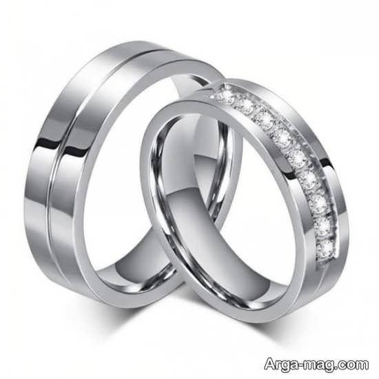 Ring is a silver pair 1 - مدل حلقه های ست نقره برای نامزدهای رمانتیک