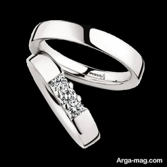 Ring is a silver pair 11 - مدل حلقه های ست نقره برای نامزدهای رمانتیک