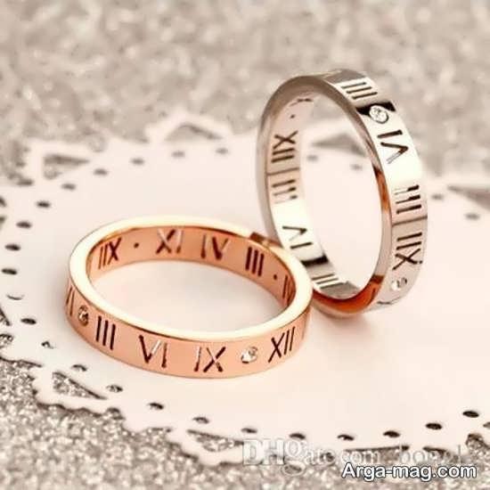 Ring is a silver pair 19 - مدل حلقه های ست نقره برای نامزدهای رمانتیک