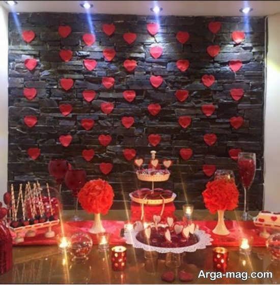 مدل زیبایی از جشن تولد عاشقانه