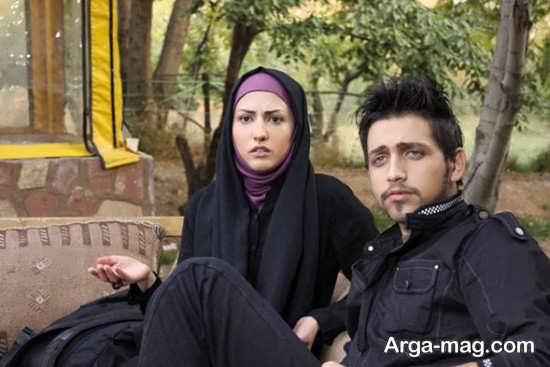 سمیرا حسینی در کنار محسن افشانی