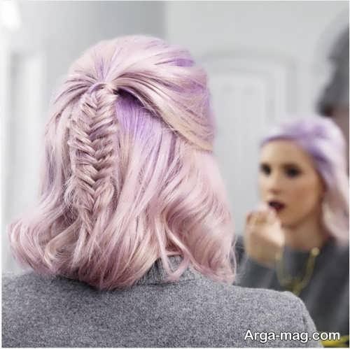 مدل بافت موی شیک