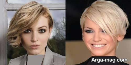 مدل موی کوتاه 2018 زنانه