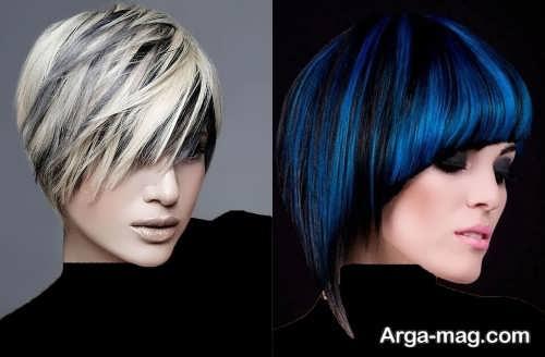 مدل مو کوتاه و جدید زنانه