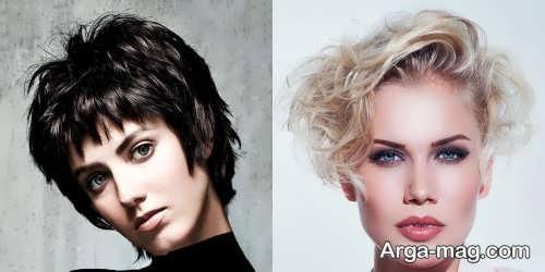مدل موی کوتاه و زیبا 2018