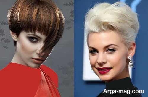 مدل موی کوتاه و خاص زنانه