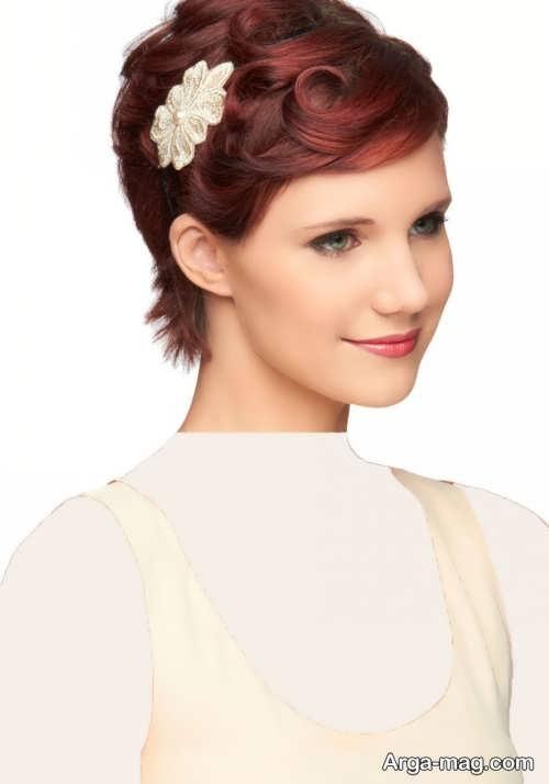 مدل موی کوتاه و زیبا برای عروس