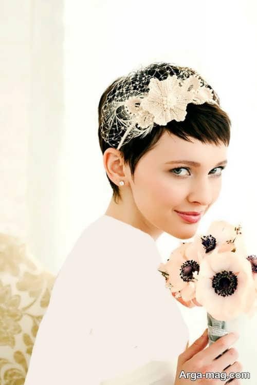 مدل موی ساده برای عروس