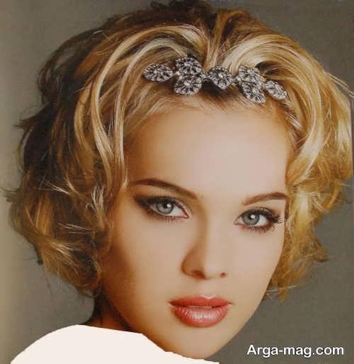 مدل موی کوتاه برای عروس با متدهای زیبا و جذاب