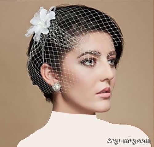 مدل موی خاص و زیبا برای عروس