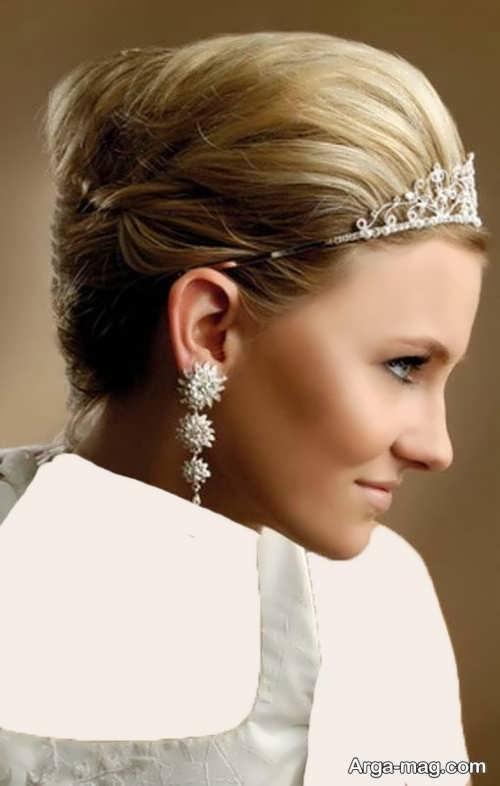 مدل مو کوتاه و زیبا برای عروس