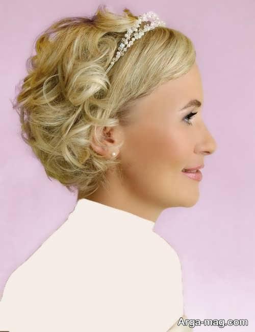 مدل موی زیبا و جدید برای عروس