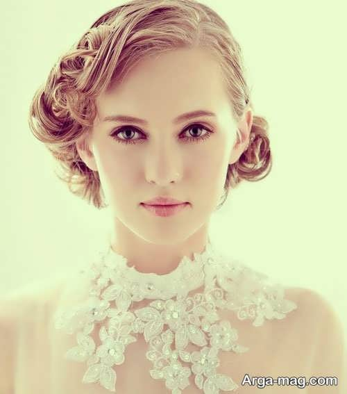 مدل موی فر و متفاوت برای عروس
