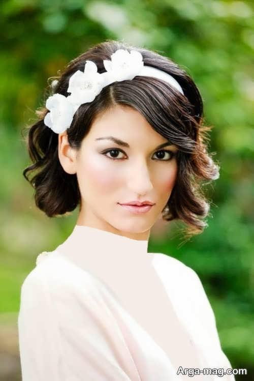 مدل موی خاص و متفاوت عروس