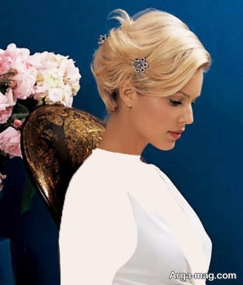 مدل موی شیک و ساده برای عروس