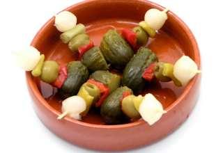 طرز تهیه ترشی اسپانیایی