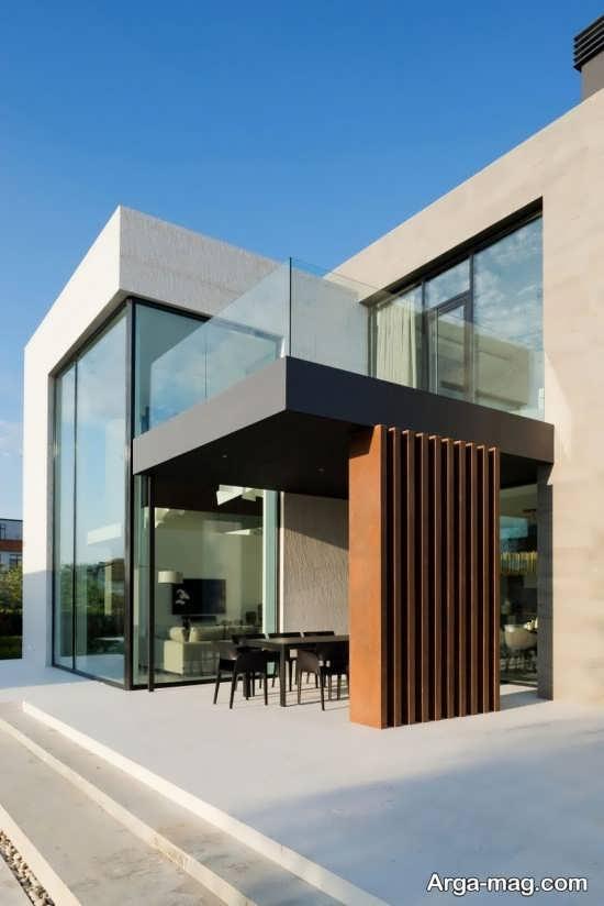طراحی لاکچری نمای ساختمان