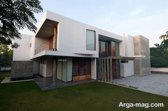 طراحی شیک نمای ساختمان سنگی
