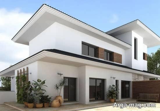 طراحی نمای سنگ مرمر ساختمان