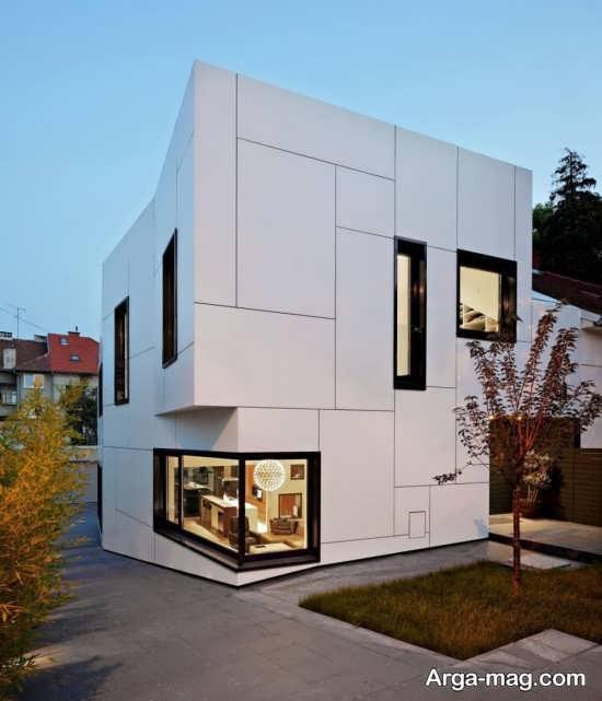 طراحی مدرن نمای ساختمان