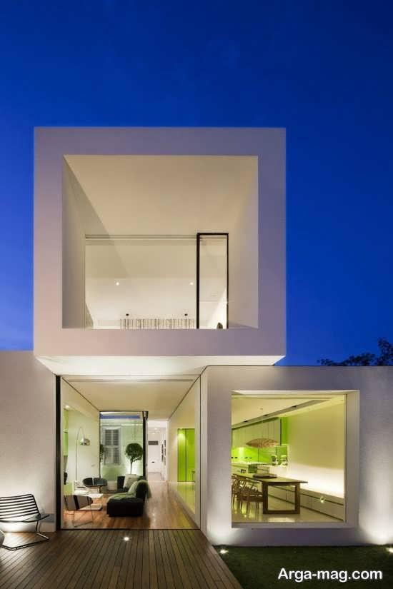 دیزاین لاکچری نمای ساختمان