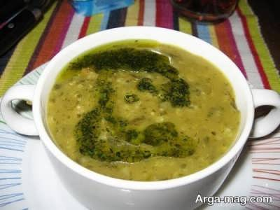 طرز تهیه سوپ ترخینه در منزل