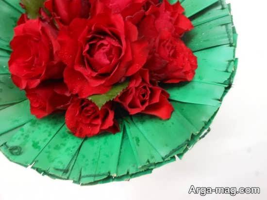 تزیین رمانتیک گل ولنتاین