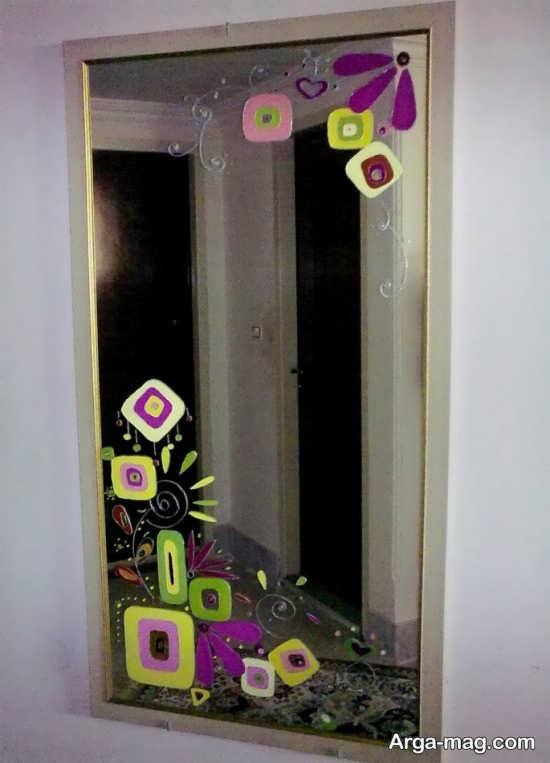 نقاشی ایده آل آینه