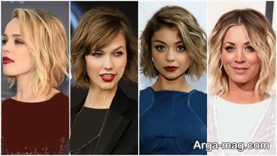 مدل کوتاهی مو برای موهای حالت دار