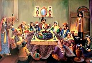 تاریخچه شب یلدا و آیین و رسوم این شب باستانی در ایران