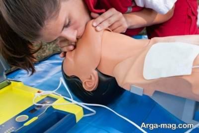 آموزش تنفس مصنوعی دهان به بینی