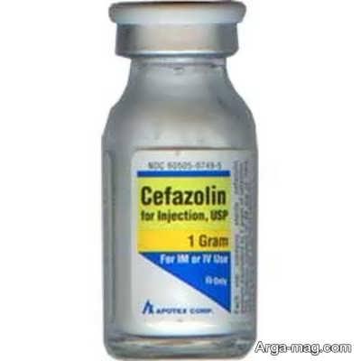 توصیه های مهم در استفاده از آمپول سفازولین