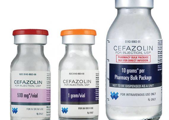 آمپول سفازولین