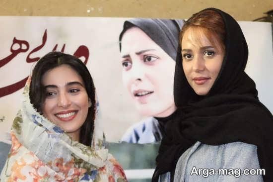 آناهیتا افشار در کنار پریناز ایزد یار