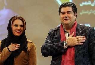 عکس جدید سالار عقیلی و همسرش