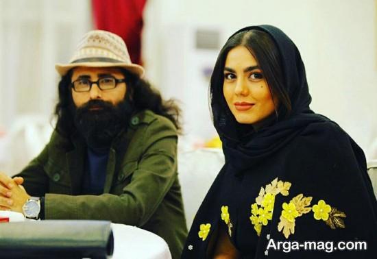 آزاده زارعی بازیگر سینمایی آمین خواهیم گفت