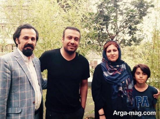 محسن چاوشی و دختر پناهی
