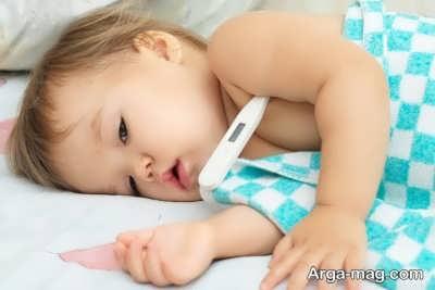 با این روش ها تب کودک را در منزل پایین بیاورید