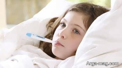 روش های خانگی درمان تب کودکان