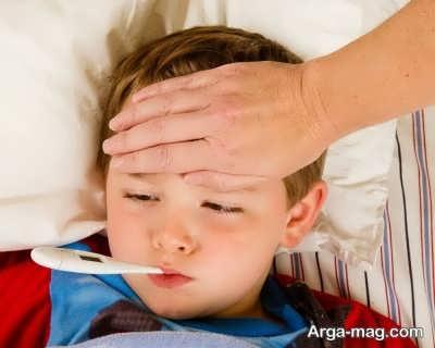 شیوه های کاهش تب کودکان با درمان خانگی