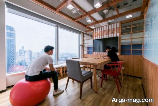 دکوراسیون دفتر سامسونگ