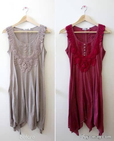 رنگ کردن لباس